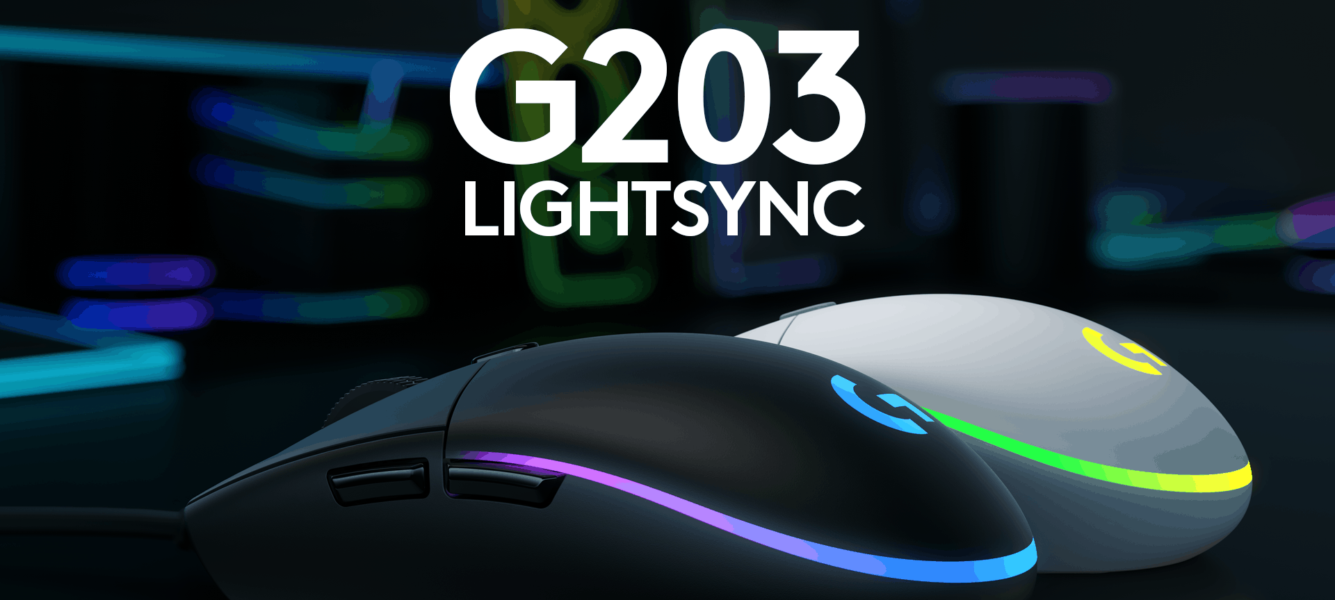 Gaming Maus Logitech G203 Lightsync