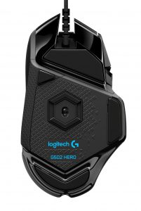 Gaming Maus Logitech G502 Hero Unten