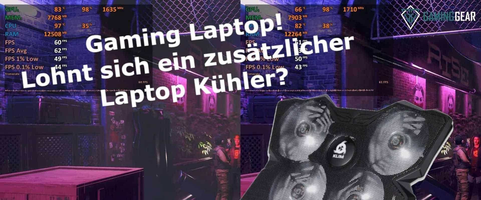 Notebook Kühler