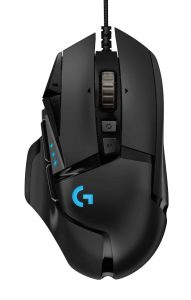 Gaming Maus Logitech G502 Hero Top