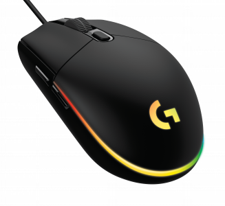 Gaming Maus Logitech G203 Lightsync Iso black
